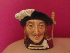 RARE ROYAL DOULTON ETC CHARACTER JUG - ARAMIS D6508 MINIATURE SIZE - PERFECT !!