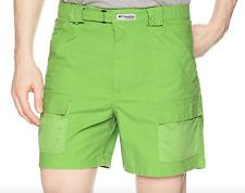 Columbia Men's Sz Medium Pfg Half Moon II Shorts Green M 6l