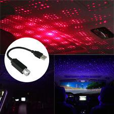 Car Home LED Ceiling Projector Star Light USB Night Romantic Atmosphere Light
