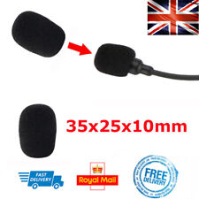 Mic FOAM For Motorbike Headset Sena SMH5 SMH10 Intercom Headphones Microphone