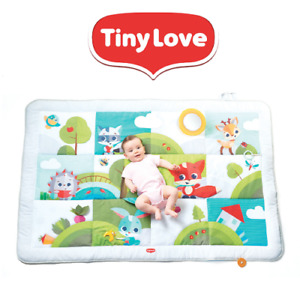 Tiny Love Meadow Days Super Mat Baby Activity Gym Kids Tummy Time Play Mat
