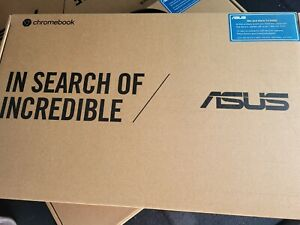 "ASUS C423N 14"" Celeron 4GB/64GB Chromebook, 14"" HD Nano-Edge Display"