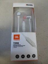 écouteur filaire JBL model T290 blanc ( occasion )