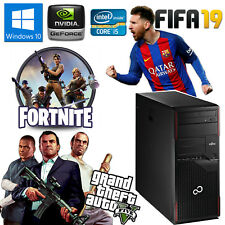 PC COMPUTER DA GIOCO GAMING QUAD CORE i5-3470 RAM 8GB HDD 500GB GT1030 2GB