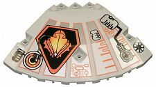 Missing Lego Brick 30117px3 OldGray Panel 10 x 10 x 2 & 0.33 Corner Top with UFO