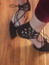 Schutz Point-toe Flat Shoes size 38