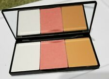 NEW Charlotte Ronson 3 x a charm Luminizer, Blush, Bronzer Palette in Shoshanna
