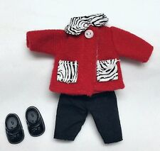 Barbie Sister Kelly Doll Clothes Zebra Print Outfit + Shoes Cute n' Cool Mattel