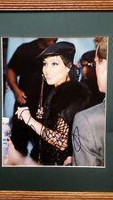 Sexy Alicia Keys Signed Autograph 8x10 Glossy Photo Framed