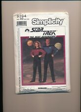 1980's Simplicity Star Trek Costume Pattern 9394 Size Bb (34-44)