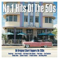 No. 1 Hits Of The 50s - 50 Original Chart Toppers 2CD 2016 NEW/SEALED