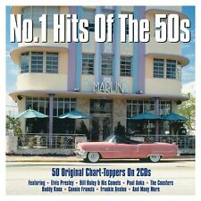 No. 1 Hits Of The 50s - 50 Original Chart Toppers (2CD 2016) NEW/SEALED