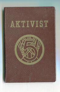 Aktivist   1954  Urkundenbuch   1954