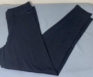 NWT Victorias Secret PINK Full Length Basic Black Yoga Leggings Size Medium