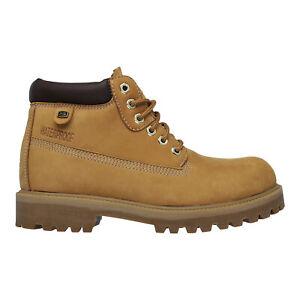 Skechers Sergeants-Verdict Mens Waterproof Classic Boots Dessert Size 9 10 11
