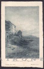 GENOVA CITTÀ 383 QUINTO da Quadro Pittore E. GIGNOUS Cartolina viaggiata 1907