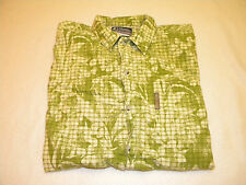Columbia XCO Mens Short Sleeve Button Up Shirt Size L