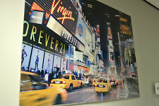 New York Times Square Glass Art / Tempered Glass Picture / Glass Image / Glossy