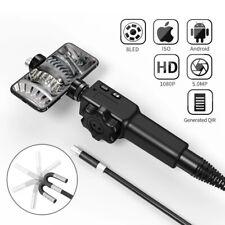 φ8.5mm USB Endoscope Flexible Inspection Camera Borescope Waterproof Fit iPhone