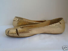Kate Spade Women's Gold  Ballet Flats shoes Size 9 M