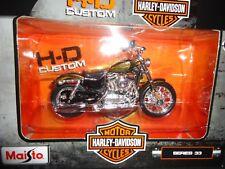 Maisto Harley Davidson XL1200V Metallci Marrón S33 Serie 33 1/18