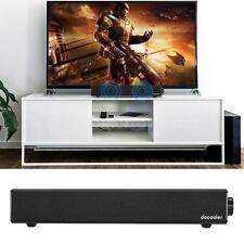 Bluetooth Sound Bar TV Speaker Home Theater 3D Super Bass Subwoofer AUX USB X9O4