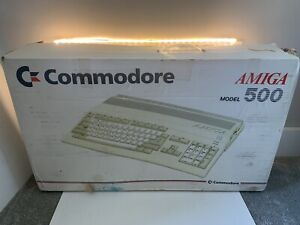 Amiga Commodore 500 Console Boxed Tested Working
