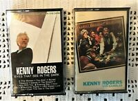 Kenny Rogers Cassette Tapes  'The Gambler' and 'Eyes That See in the Dark'