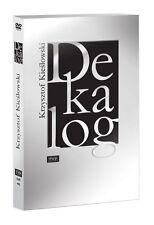 DEKALOG Kieslowski Krzysztof  DVD 4 disc POLSKI POLISH