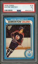 1979 - 1980 Topps #18 Wayne Gretzky HOF Rookie Card PSA EX 5 NO Creases!