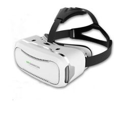 White VR Shinecon 2.0 Virtual Reality Headset 3D Movies Games Video For Phone#