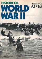 HISTORY OF WORLD WAR II HBDJ (A.J.P. TAYLOR) WW2 EUROPE NORTH AFRICA PACIFIC CBI