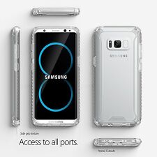 Poetic Affinity Clear Case【Anti-Slip Side Grip Bumper】For Samsung Galaxy S8 Plus