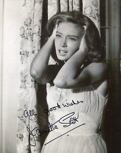 Hammer movie actress Janette Scott signed PARANOIAC 8x10 photo - UACC DEALER