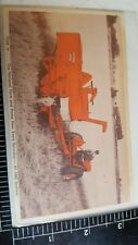 Allis Chalmers postcard collectable