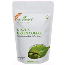 Organic Green Coffee Beans unroasted arabica coffee beans  400 grams
