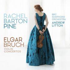 [BRAND NEW] CD: ELGAR / BRUCH: VIOLIN CONCERTOS: RACHEL BARTON PINE