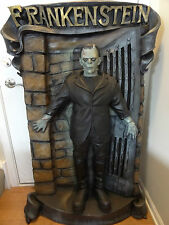 Life Size Boris Karloff Frankenstein Monster Doorway Movie Halloween Statue Prop