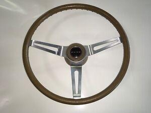 70 71 72 Buick GS Skylark Original Tan 3 Spoke Steering Wheel AMAZING SURVIVOR