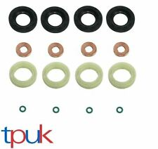 FIESTA FOCUS CITROEN PEUGEOT FIAT VOLVO 1.6 4 X INJECTOR SEAL WASHER O-RING