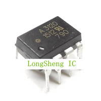 10 PCS HCPL-3120 DIP-8 HCPL3120 A3120 2.0 Amp IGBT Gate Drive Optocoupler NEW