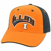 Illinois Fighting Illini NCAA Two Tone Arch Orange Adjustable  Hat Cap