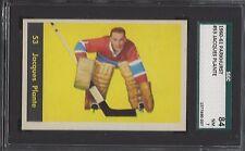 SGC 84 - 1960-61 Parkhurst # 53 Jacques Plante Montreal Canadiens HOF