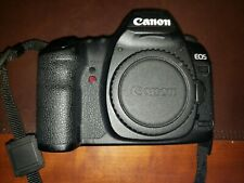 Canon 5D Mark II,  Shutter Count-159,743, cover, battery, charger included