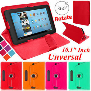 """Universal Tab 360 Rotate Stand Cover For All 10""""and 10.1"""" inches Tablet Case"""