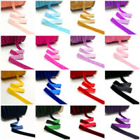 5 yards 6 10 15 20 25 mm Velvet Ribbon Clips Crafts Sew Clips Bow Decoration