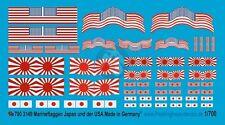 Peddinghaus 1/700 Imperial Japanese & United States Navy USN Markings WWII 3149
