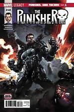 Marvel LEGACY Comics PUNISHER #218 Regular Cover (2017) 1st Printing