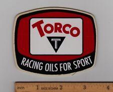 TORCO OIL Vintage Motocross Enduro Decal STICKER Honda Suzuki Yamaha Kawasaki