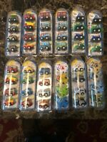 TOY CARS PULLBACK & GO JOB LOT X4 BOXES NEW
